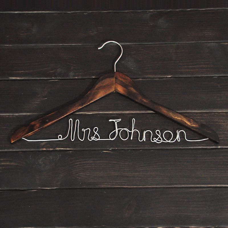 SALE Personalized Wedding Dress Hanger -in Event & Party Supplies from Home & Garden on Aliexpress.com