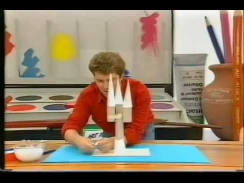 This Is An Art Attack Neil Makes A Fantasy Castle With 1