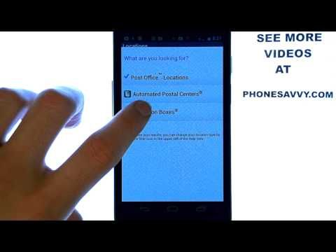 USPS Mobile App Review Post Office At Your Fingers