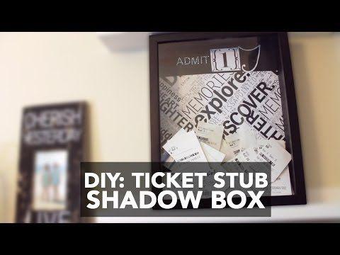 diy ticket stub