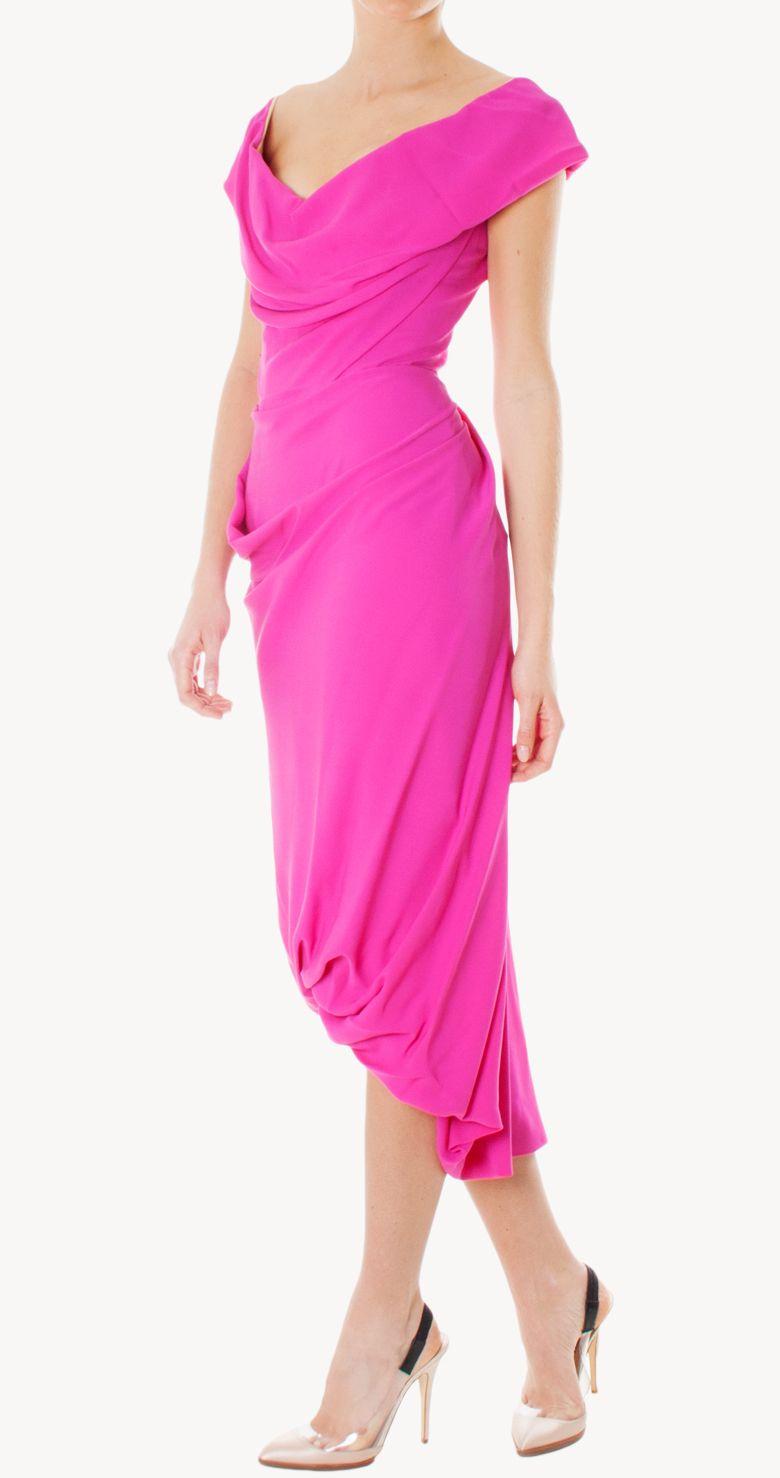 Vestido Cocotte midi | Vivienne Westwood | 24fab | Wedding guest ...