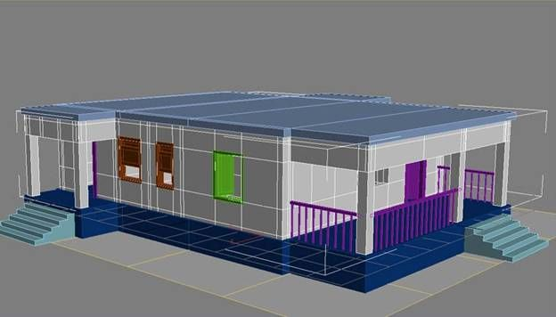 3d max house modelling tutorial - House and home design
