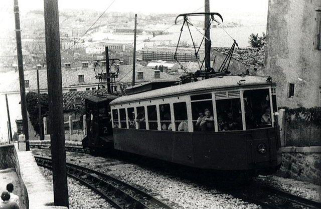 tram di opicina Scorcola anni 50