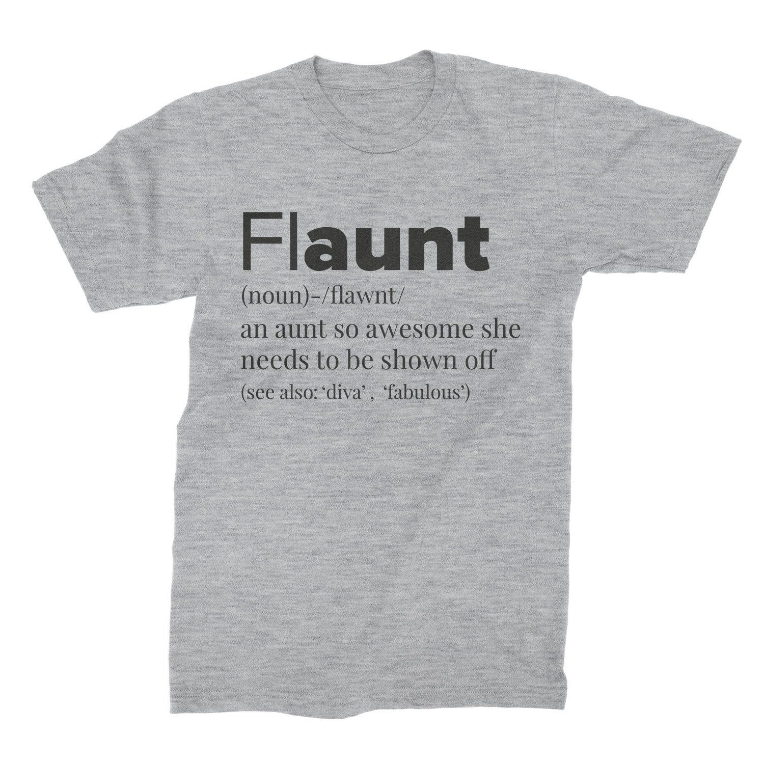 716502506e FLAUNT-Fun-Aunt-T-Shirt-Funny-Aunt-Shirt-Awesome-Aunt-Tee-Flaunt-Auntie -Clothing