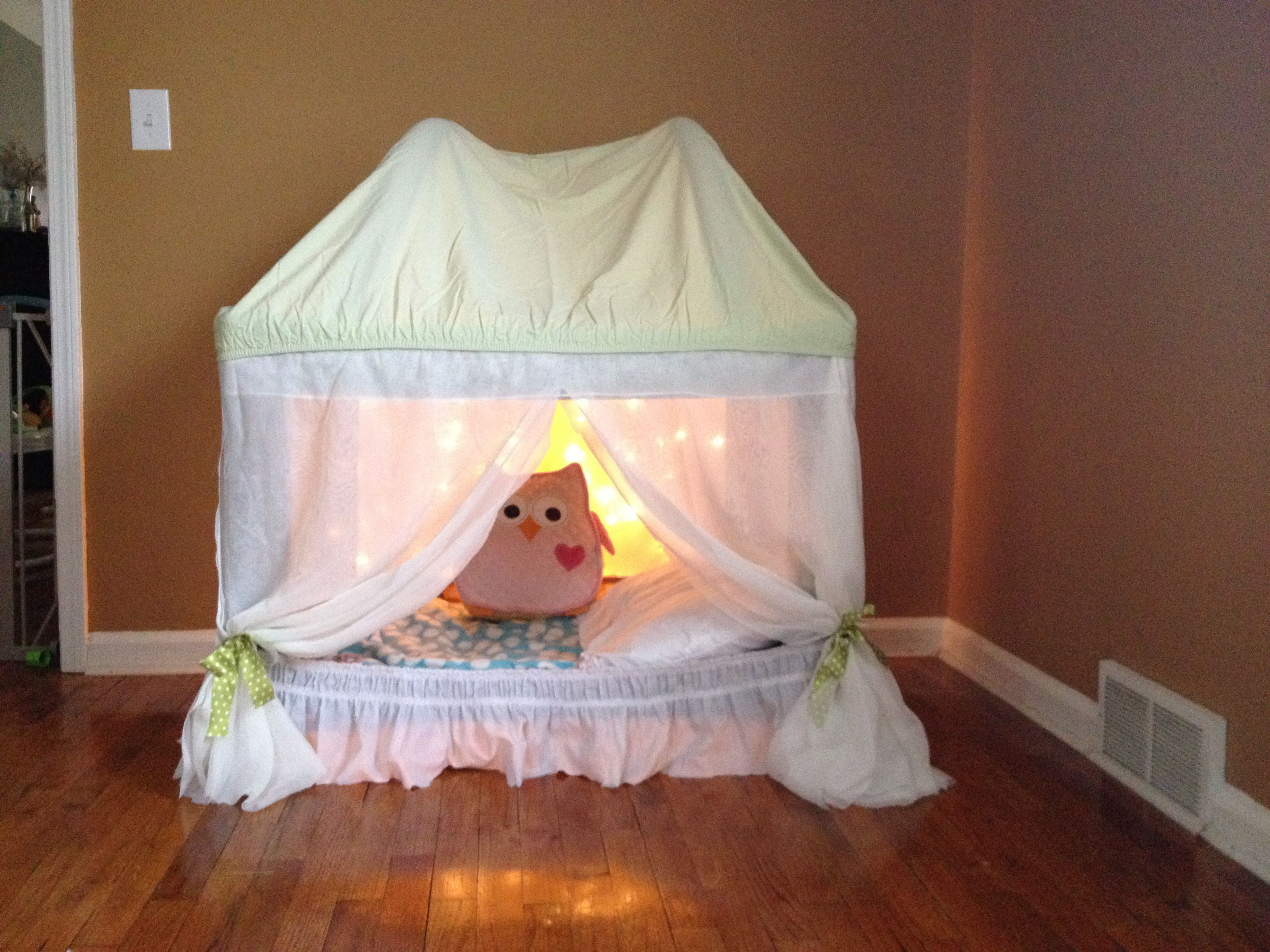 Our Old Pack N Play Repurposed Into A Relaxing Sensory