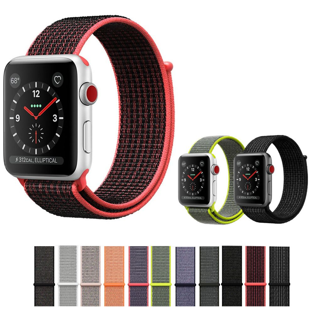 6884f81ff3e Comprar CRISTA Esporte loop Para A Apple iWatch Watch band 42mm 38mm 3 2