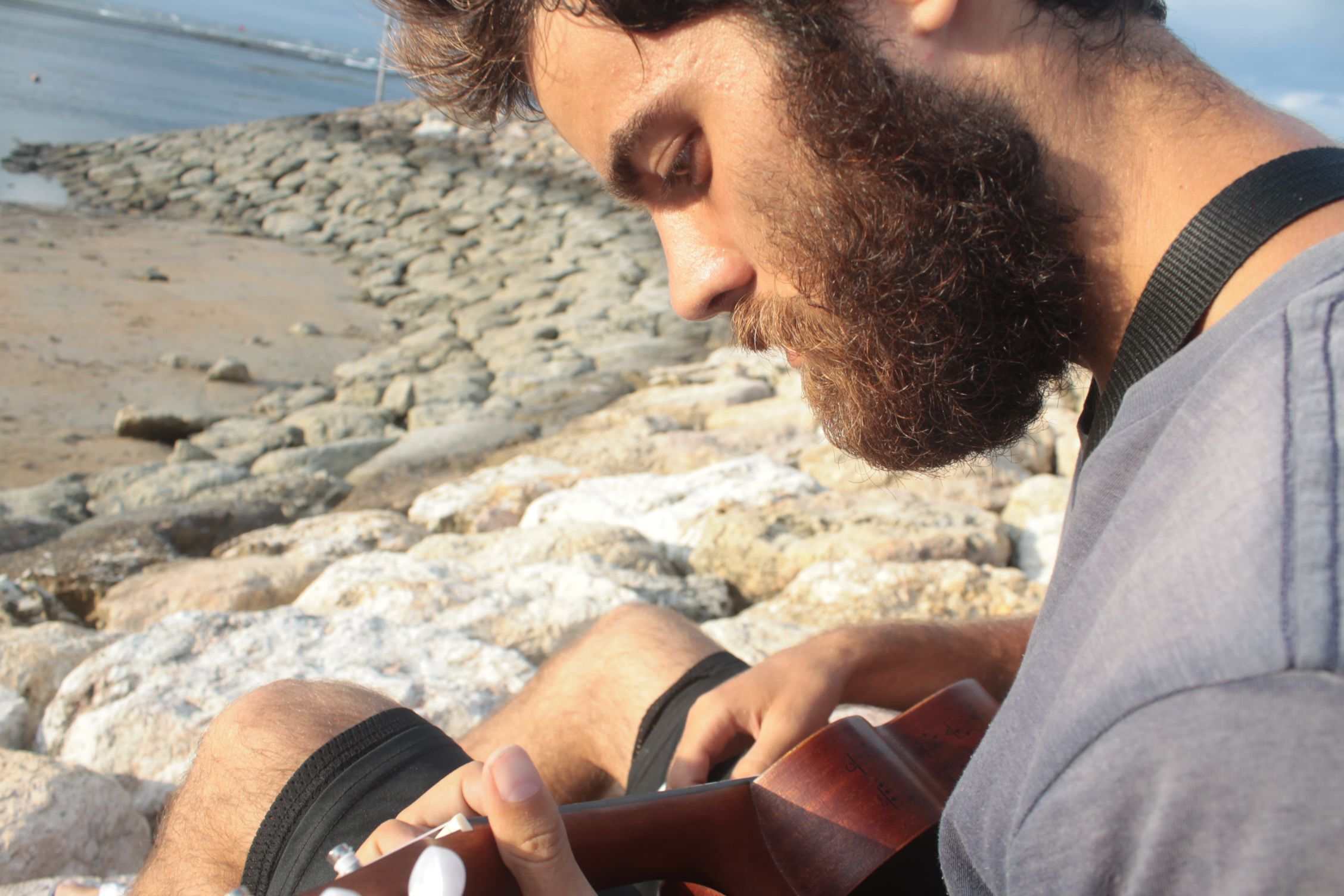Relax en la playa de Sanur