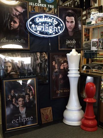 Make sure you visit Forks True Value to visit their awesome Twilight display.