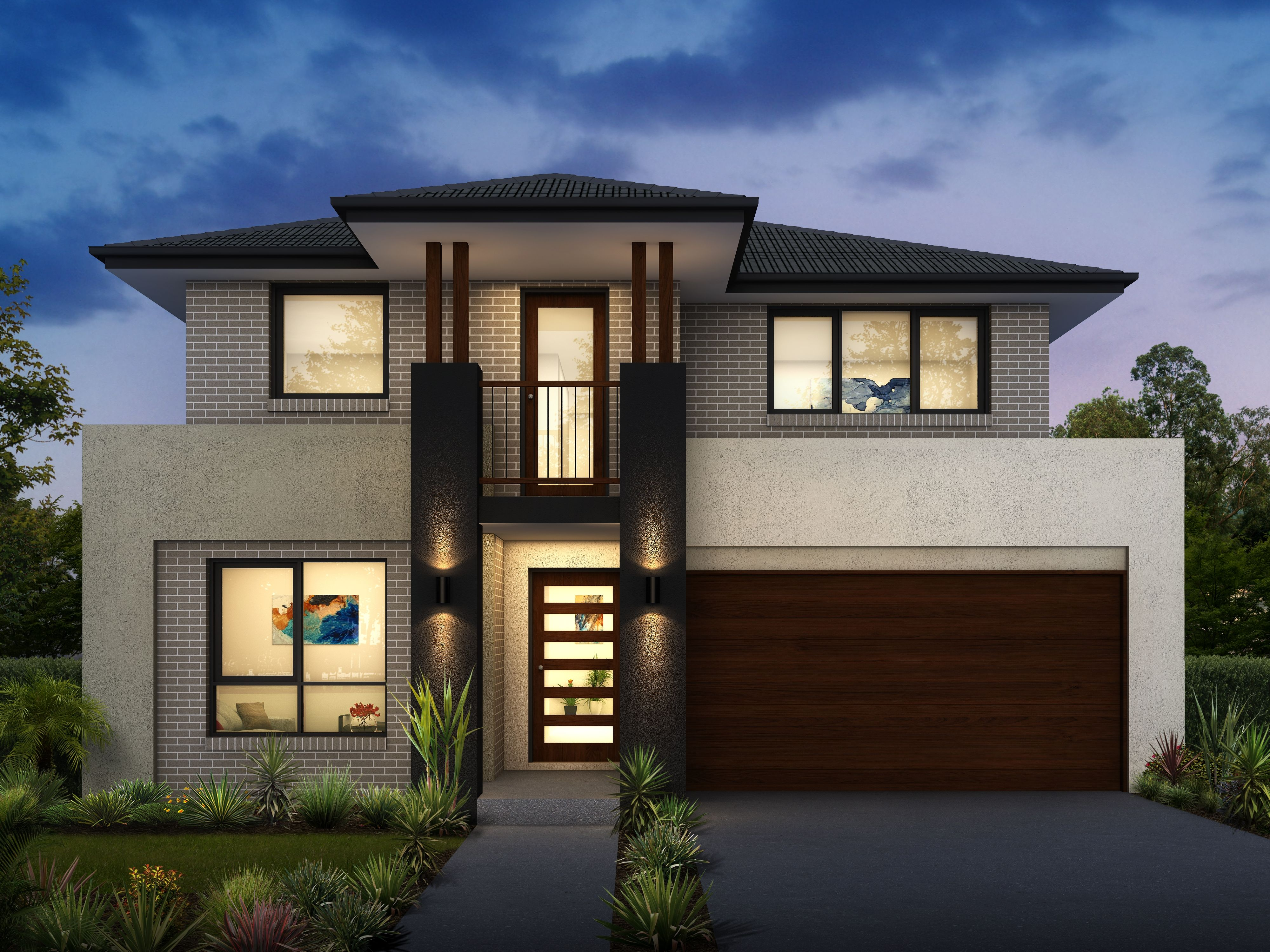 Bronte 25 Double storey home design ideal for narrow blocks