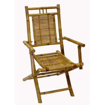 Bamboo54 Folding Dining Arm Chair