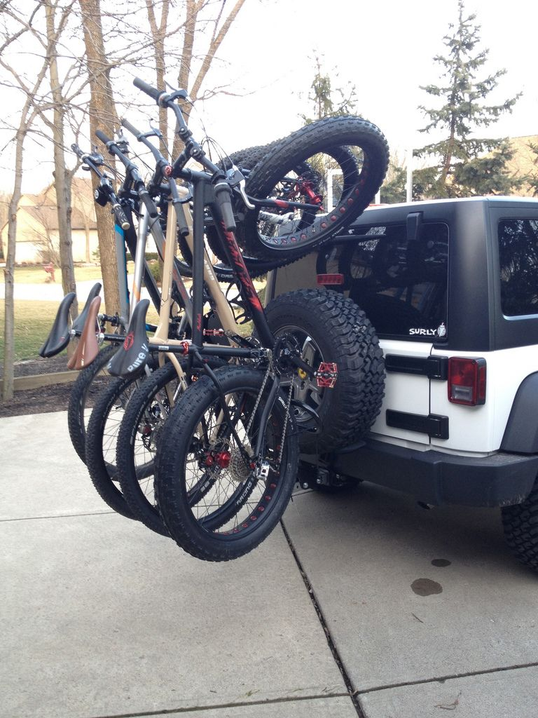 Jk Ski Mobile Bike Rack Super Bikes Jeep