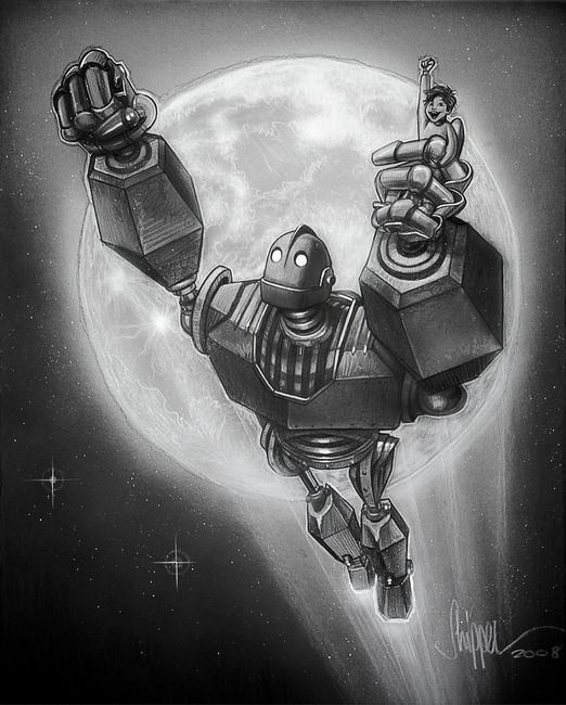 The Iron Giant my son loves this movie! | Kam the Man | Pinterest ...