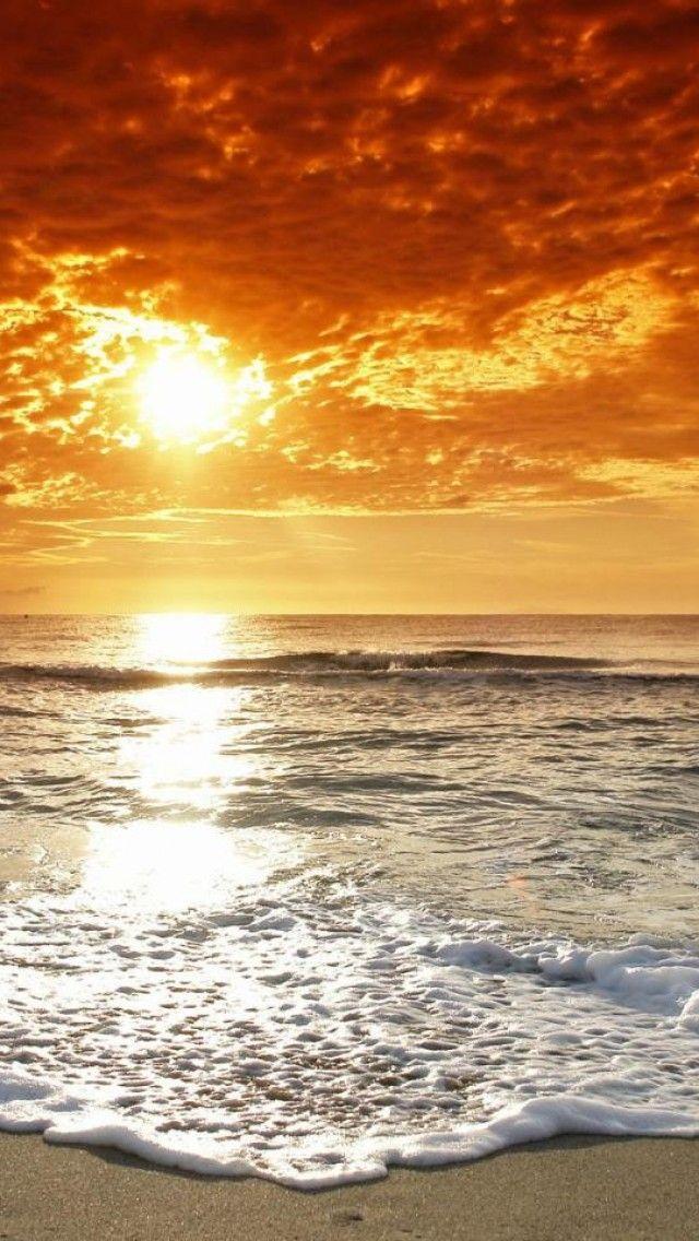 Beach Sunset Beach Landscape Beach Wallpaper Beach Sunset