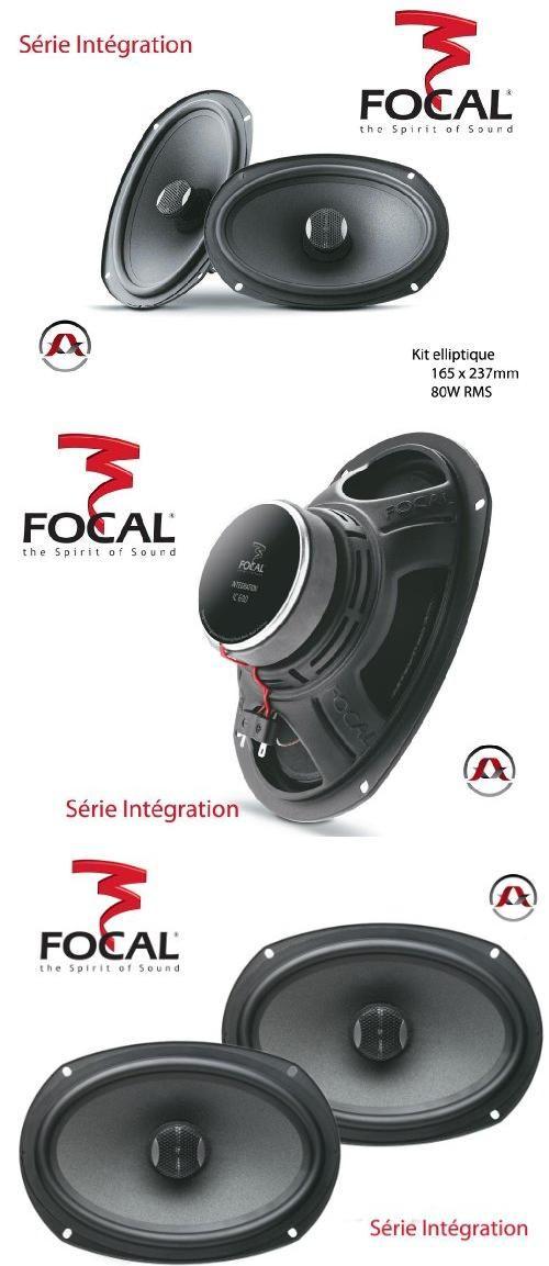 Focal IC690 6x9 2 Way 160w Car Speakers 2-way 6x9 speakers