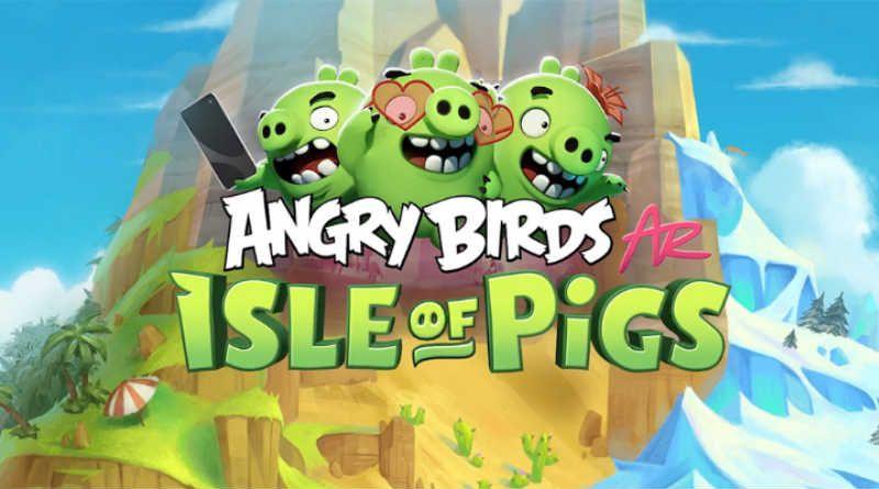 Asi Sera El Nuevo Angry Birds Con Realidad Aumentada En 2019