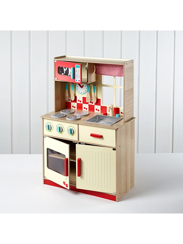 f16d95622179 George Home Deluxe Wooden Kitchen | View All George Wooden Toys | ASDA  direct