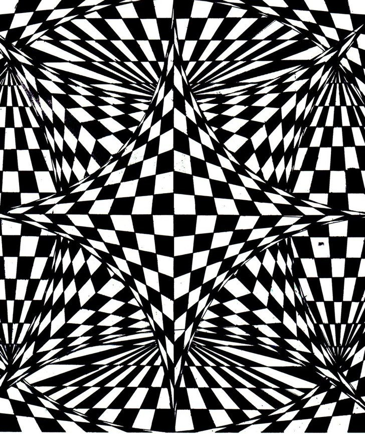 50 Printable Adult Coloring Pages That Will Help You De Stress Optical Illusions Art Op Art Art Optical