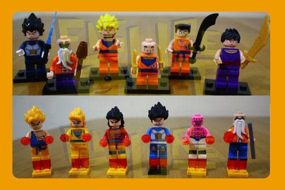 Dragon Ball Z Resurrection Son Goku Lego Minifigure Compatible Toys Lego Dragon Dragon Ball Z Dragon Ball