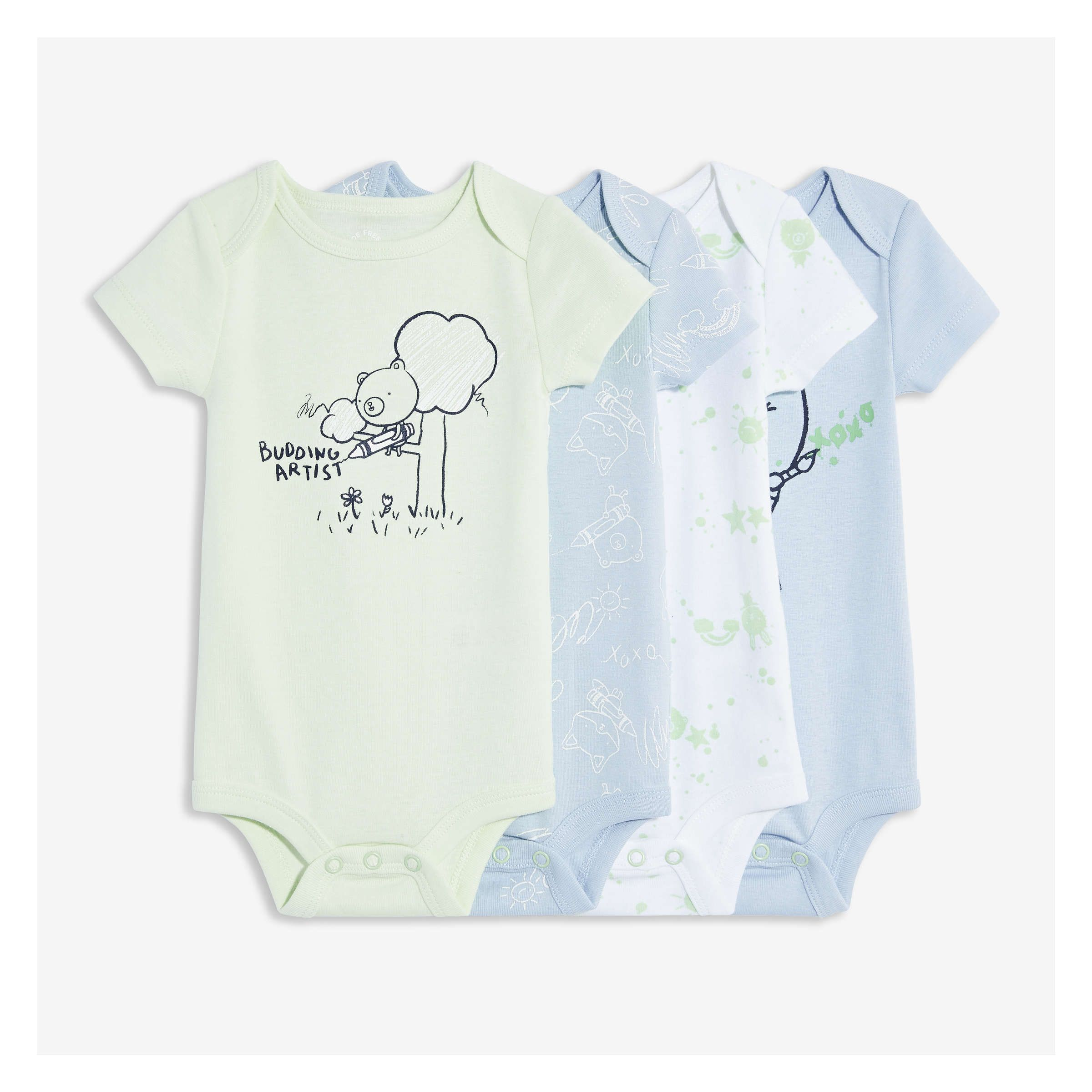 Faithful Toddler Newborn Baby Boy Girl Summer Bodysuit T-shirt Tops+pants 2pcs Outfit Clothes Size 0-24m Clothing Sets Girls' Baby Clothing