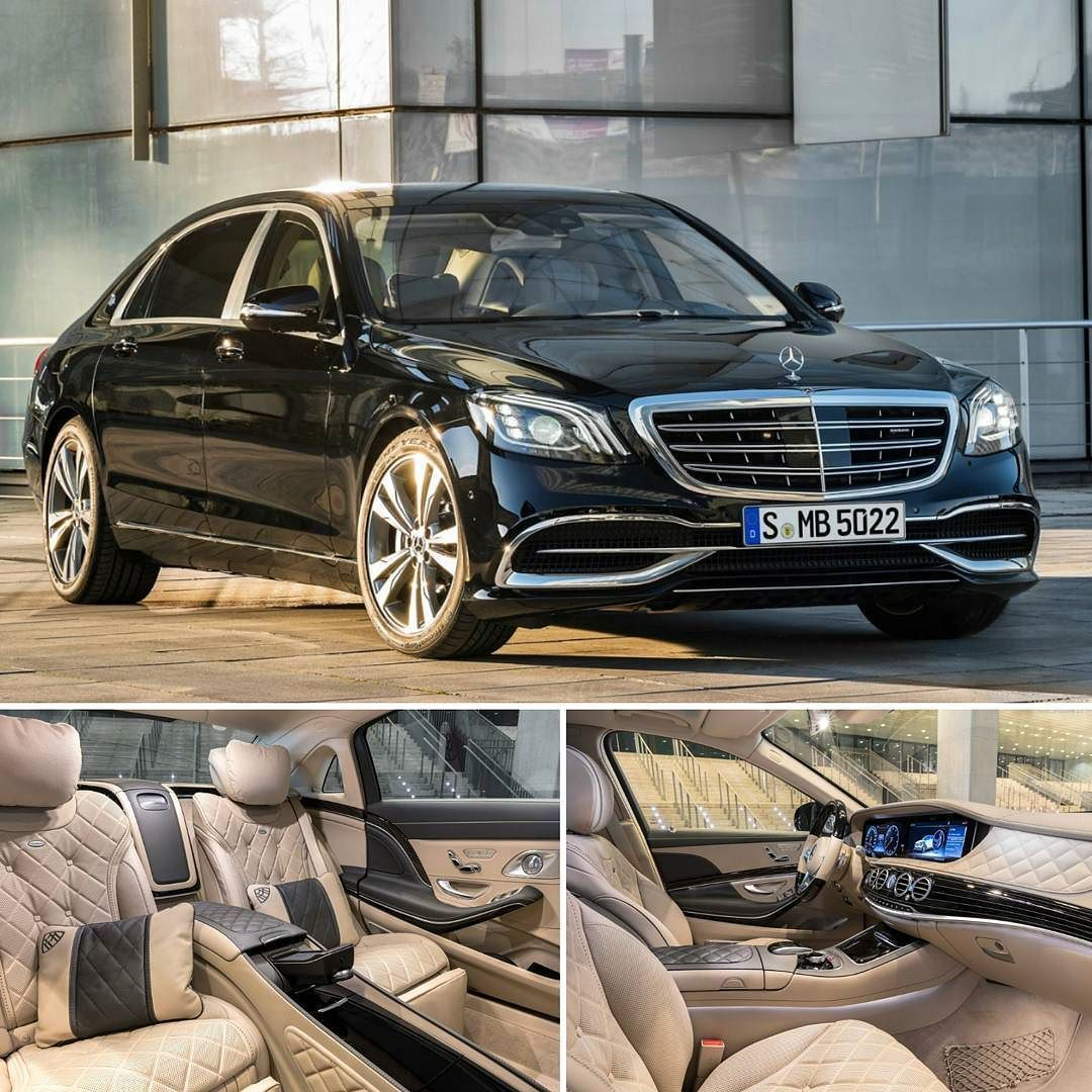 Mercedes-Maybach S 560 4MATIC 2018 Versão Mais Luxuosa Do