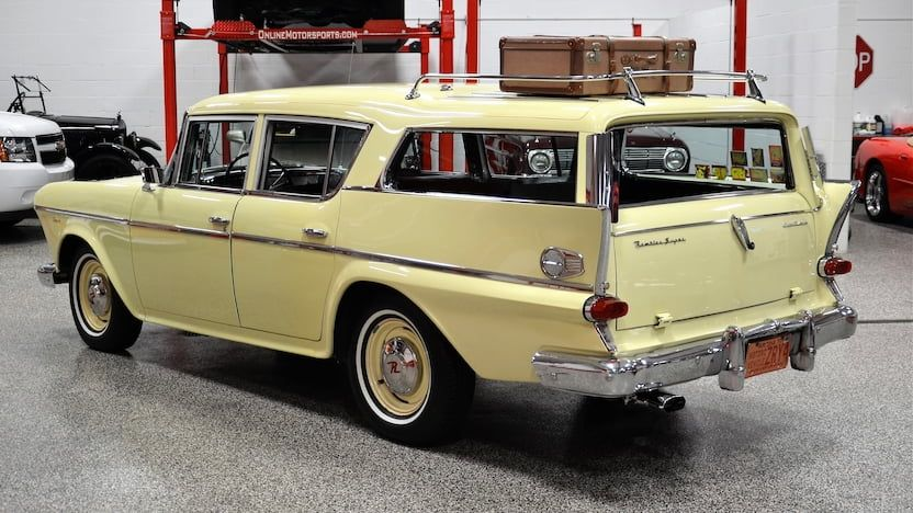 1958 AMC Rambler Super Cross Country Wagon | F58 | Chicago 2018 | Mecum Auctions