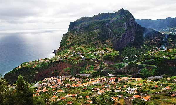 The coastline around Santana is simply spectacular
