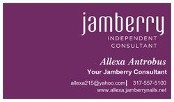 Jamberry business cards vistaprint oxynux did you know vistaprint has premium business cards check mine out reheart Image collections