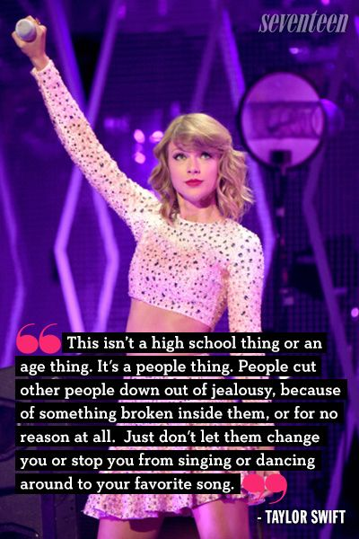 Celebs Who Opened Up About Being Bullied From Taylor Swift To Demi Lovato Bullying Quotes Celebration Quotes Taylor Swift Quotes