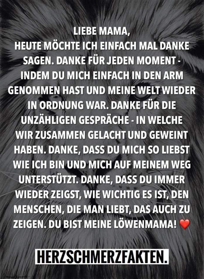 Pin Von Tina Prinz Auf Lillys Mama Spruche Mama Zitate Und Mama