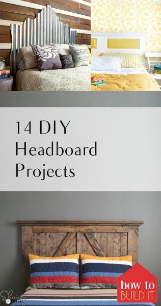 14 Diy Headboard Projects Diy Furniture Projects Diy Furniture