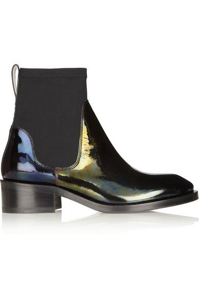 Shop now: Acne Holographic Boot