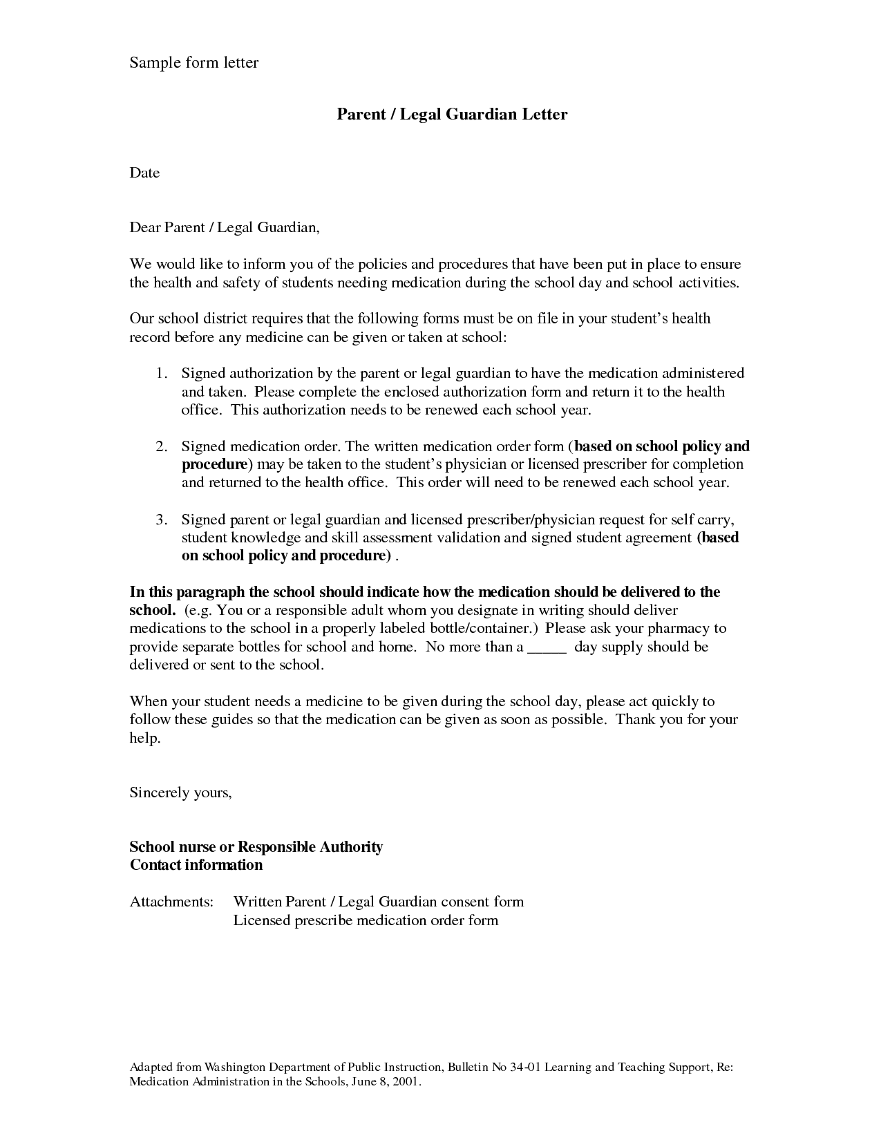 Temporary Guardianship Letter Sample Bagnas