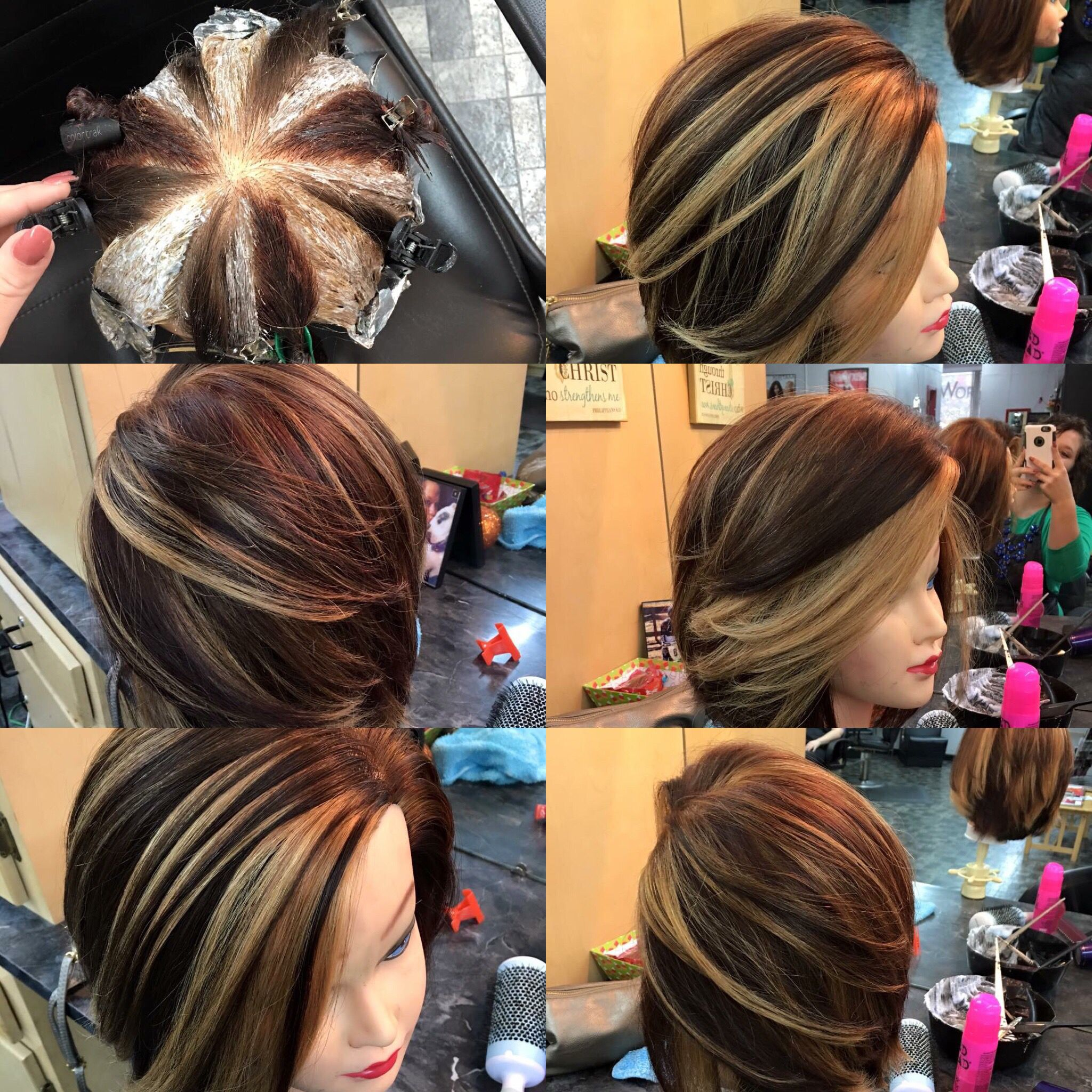 Pinwheel Hair Color I Need This Hair Goals Pinterest Hair