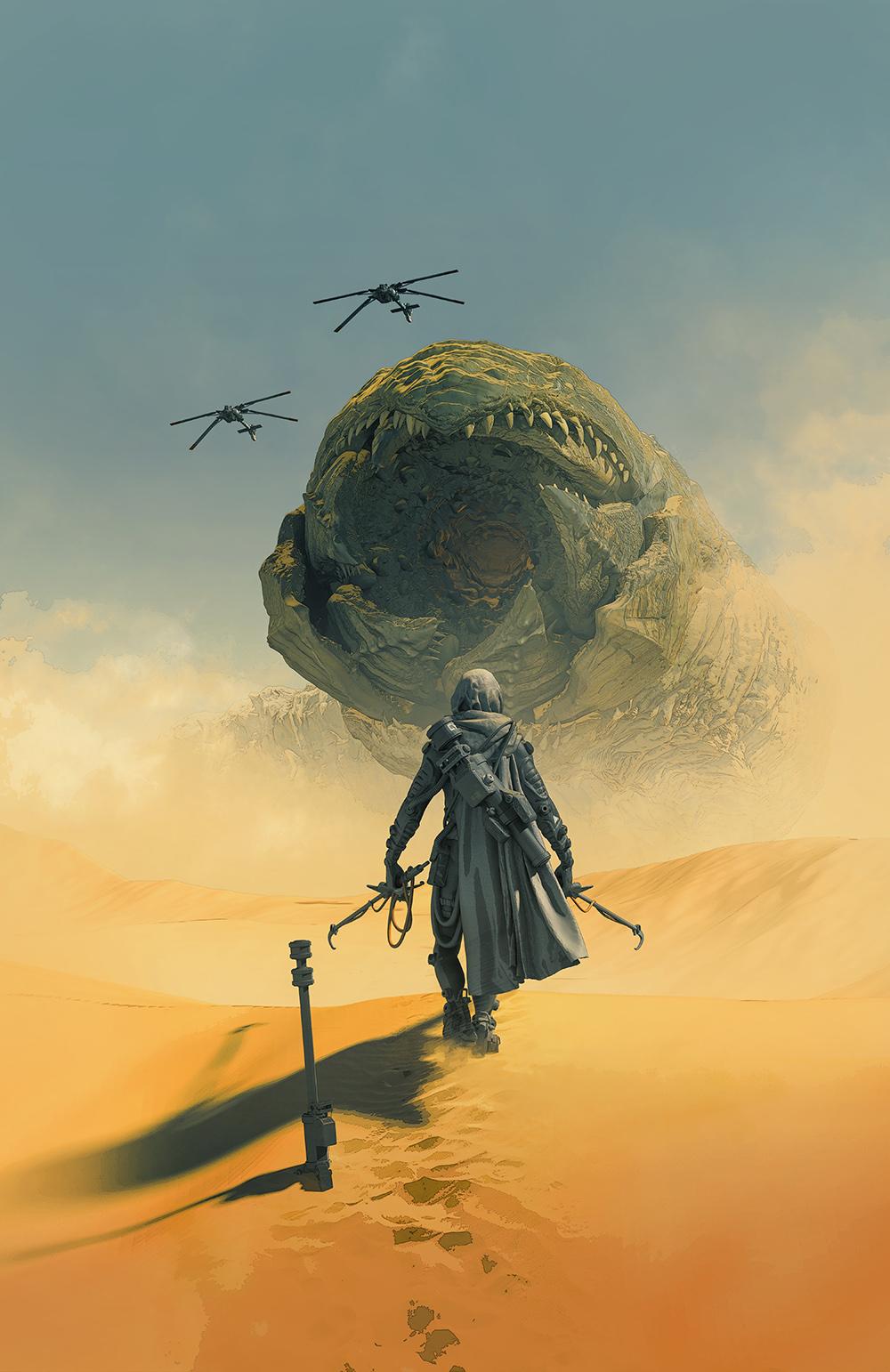 Pascal Blanche On Twitter Dune Art Dune Book Dune Artwork