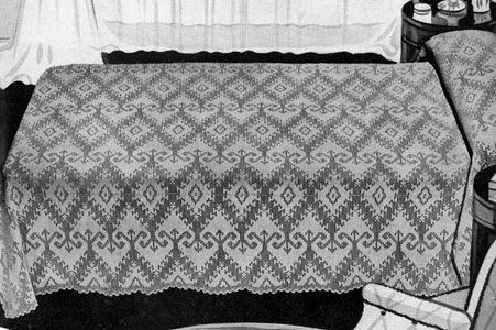 Heirloom Bedspread Pattern | mantas tejidas | Pinterest