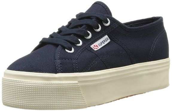 Up Linea And 2790acotw Navy 933 Down Superga Donna Blu Sneaker PqEOw