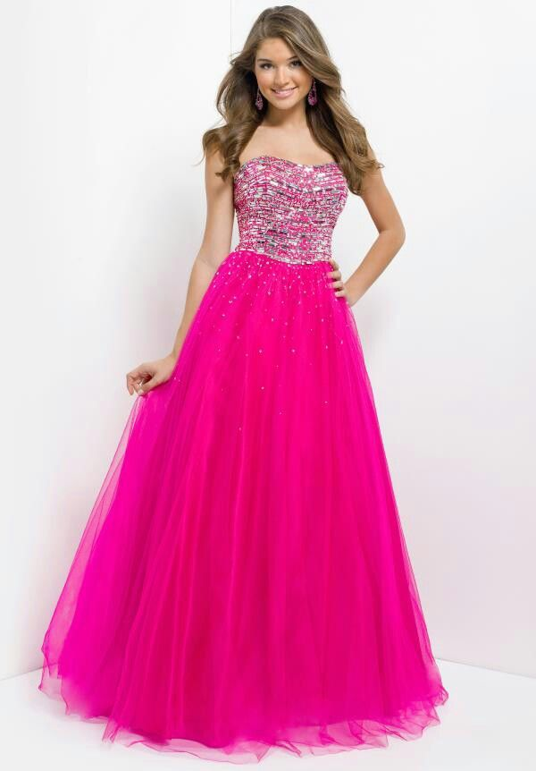 Butiful dress with pink and sparcals | dress | Pinterest
