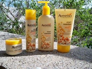 AVEENO active naturals smart essentials line.  Great products