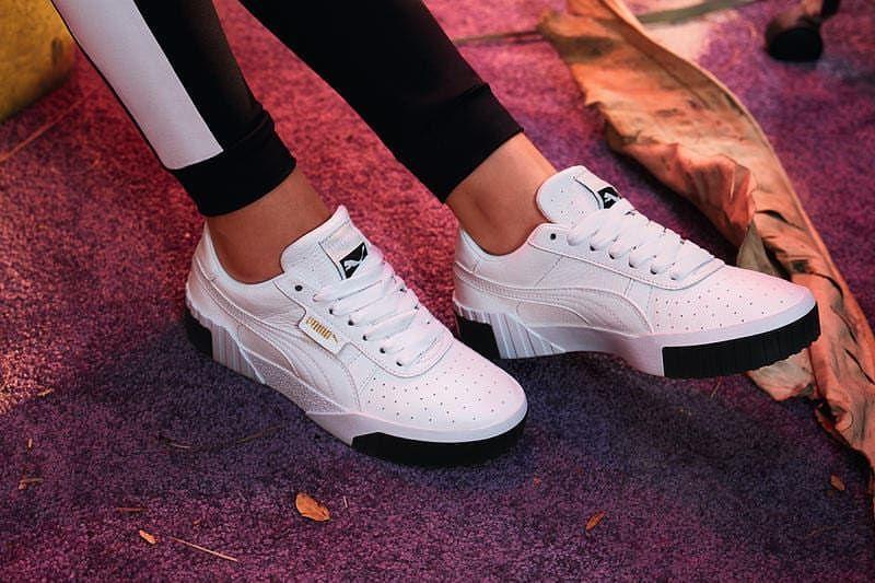 Puma Cali Fashion Turnschuhe Weisse Puma Schuhe