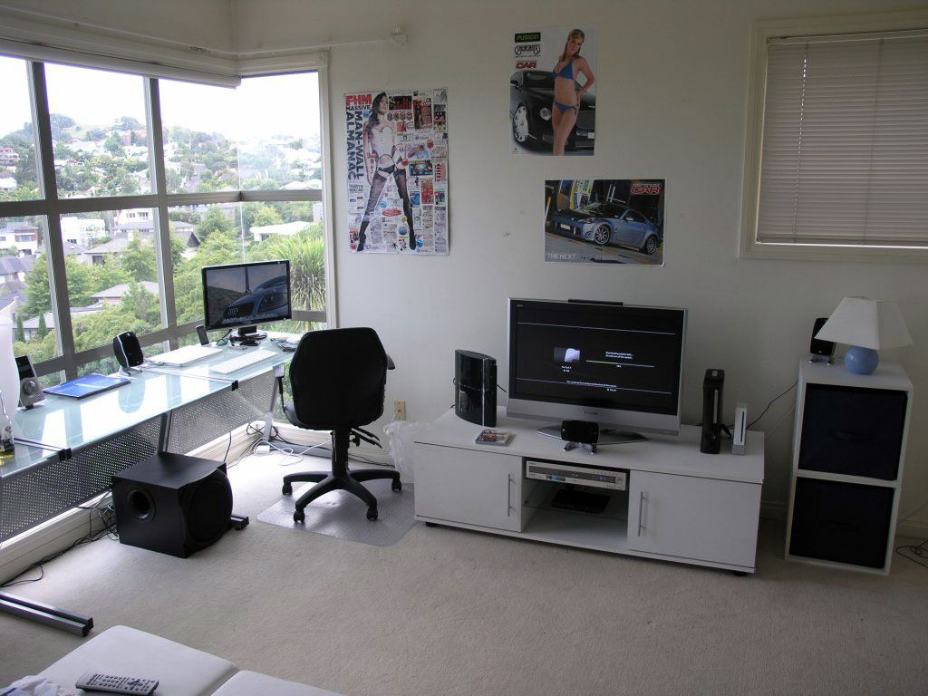 Nice View Computer Room Design Home Interior Design Computer Room Room Design Design