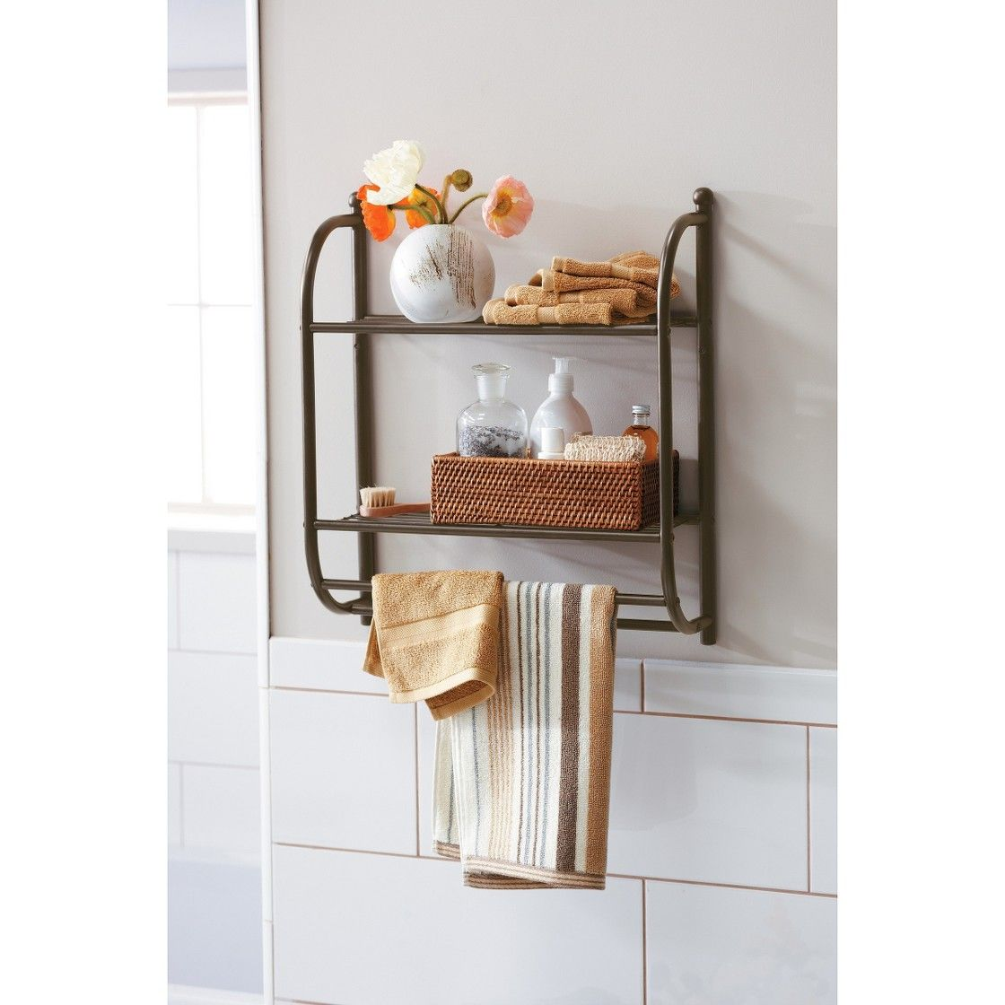 Target Home Oil Rubbed Wall Shelf - Bronze   Home things ...