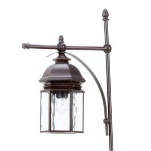 Georgetown Collection Bronze Outdoor Path Light Cil1501 At The Home Depot Outdoor Path Lighting Path Lights Outdoor Lighting