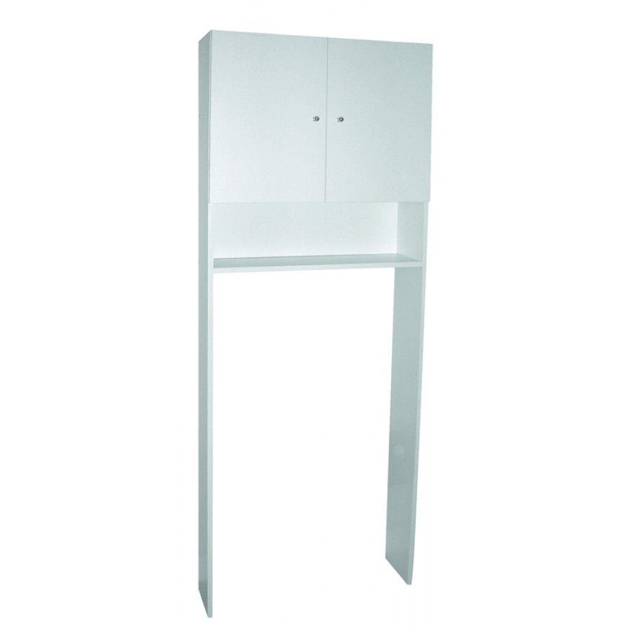 meuble entourage wc blanc - M KIT
