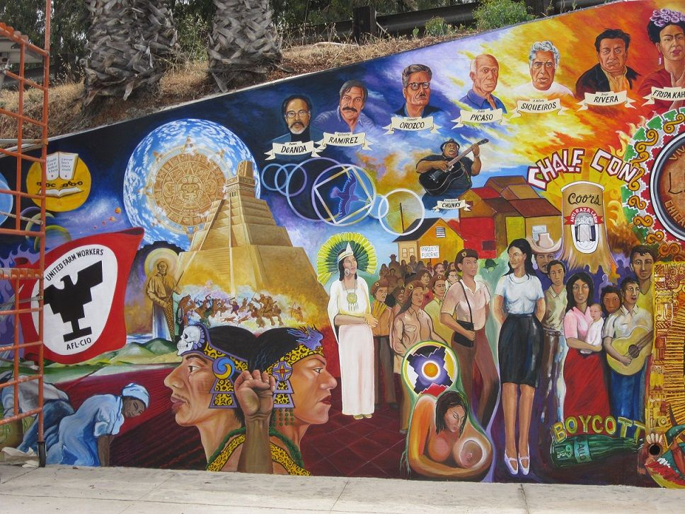 for Chicano mural art