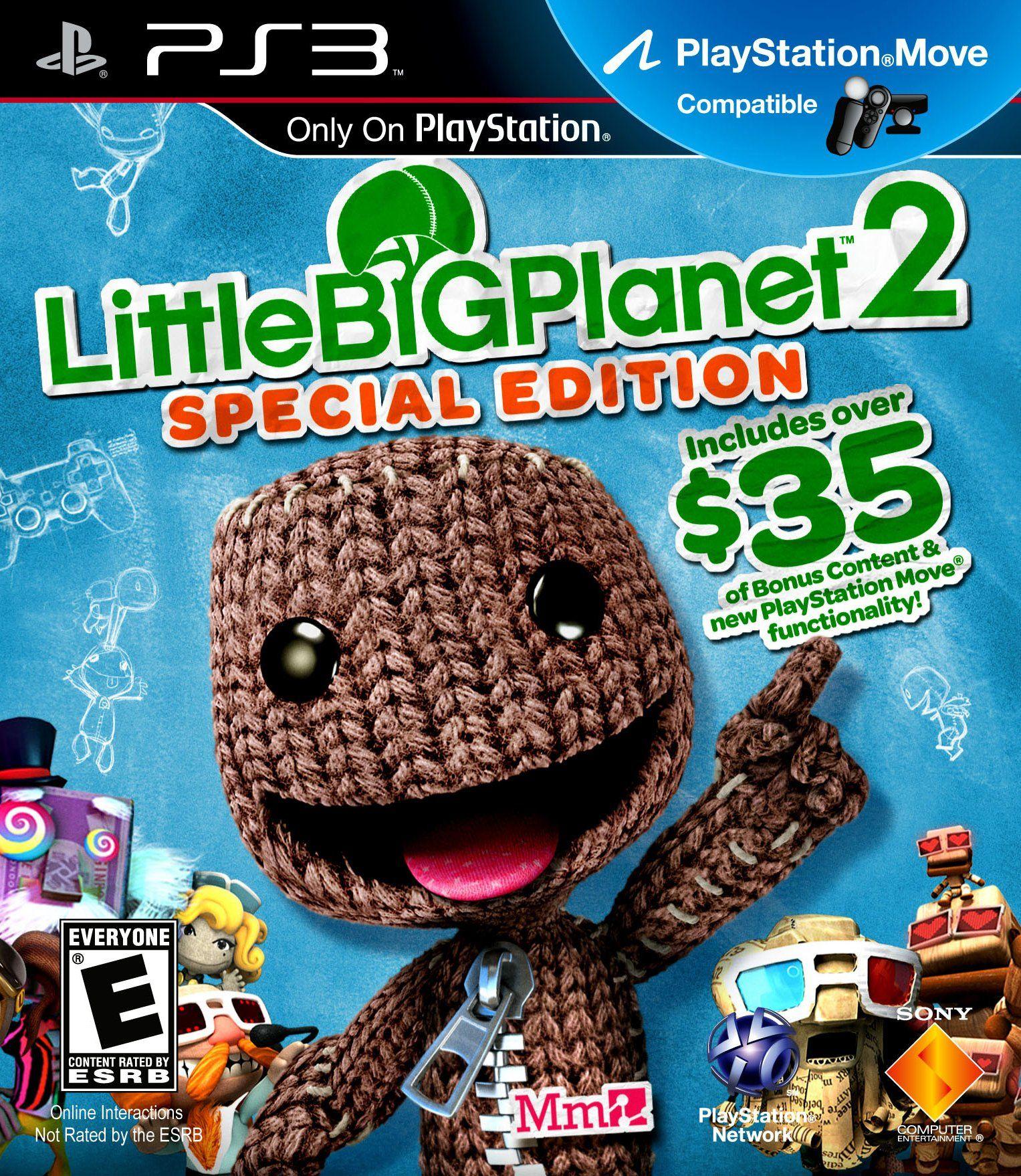 Ziz Amazon Com Ps3 Little Big Planet 2 Special Edition Video Games Little Big Planet Video Game Collection Playstation