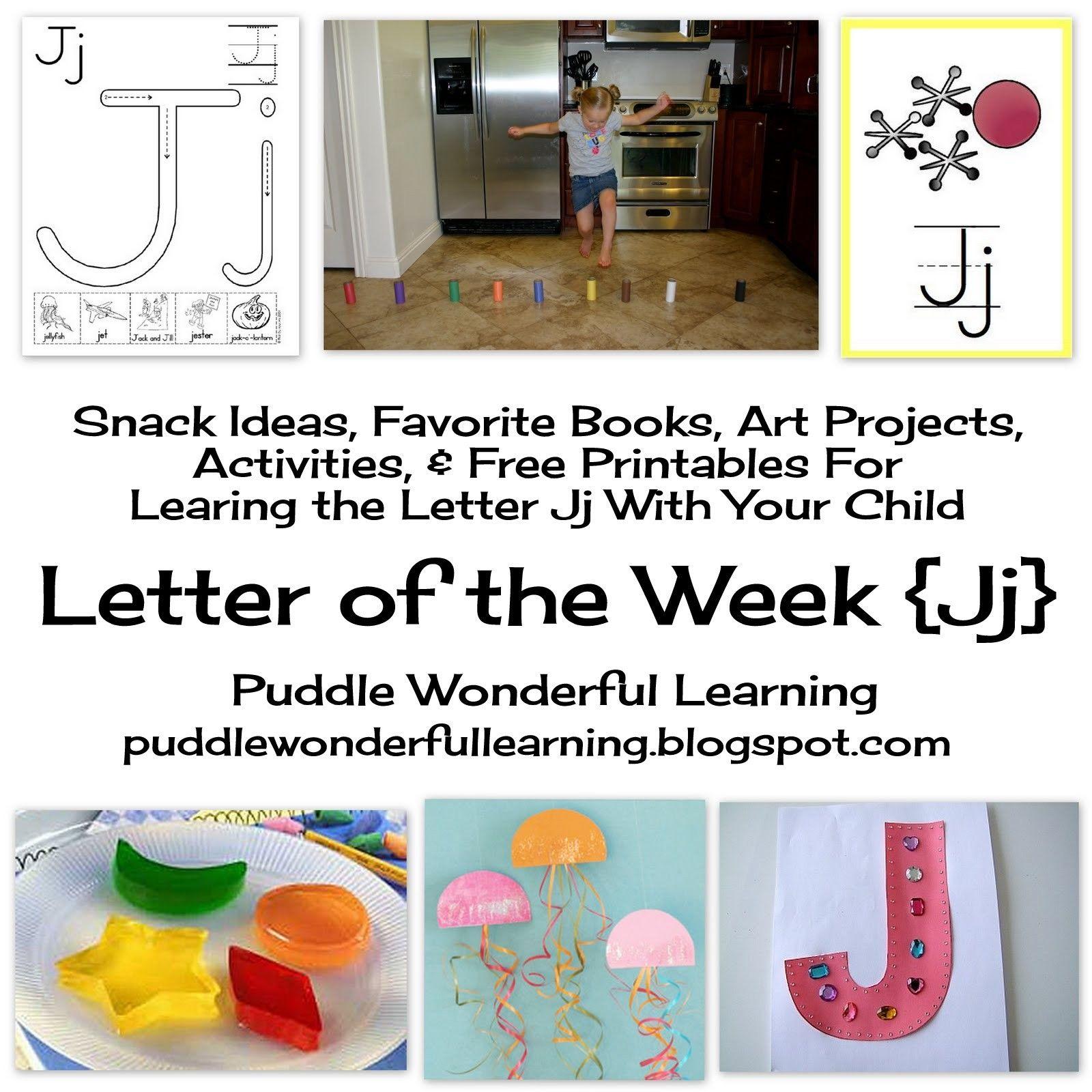 6 Inspiring Letter J Worksheet For Preschool In