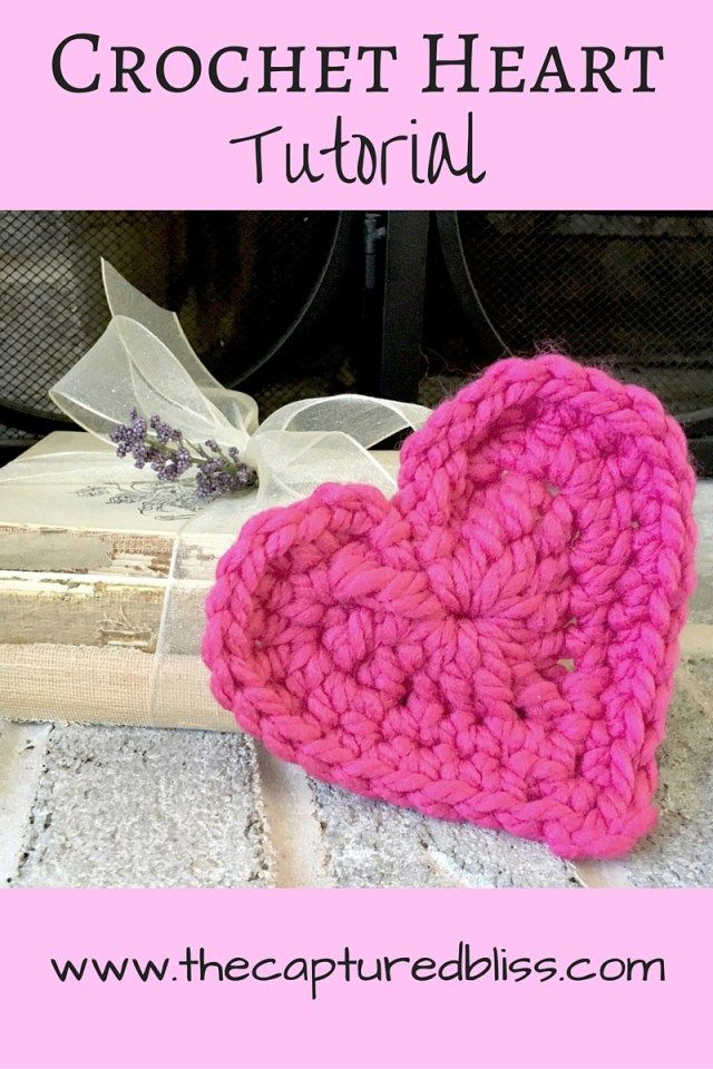 Want To Learn How To Make An Easy Crochet Heart Check Out This