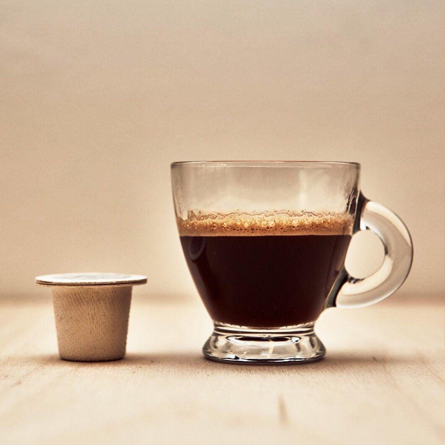 Ristretto seconds coffeecapsules
