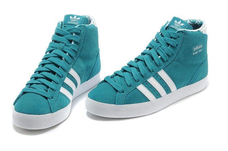 newest cdead 944e3 Adidas Basket Profi mujer High Tops Zapatos Royal Blanco Trainers G95472 en  stock