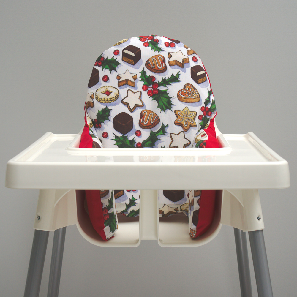 Baby's First Christmas, IKEA High Chair Cover, My First